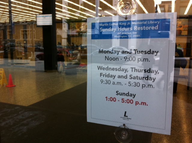MLK Library Remains Open, But Challenges Still Exist | DCist