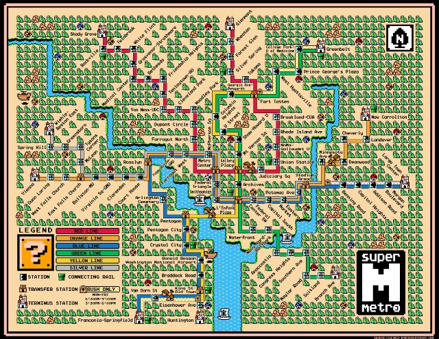 Metro Would Be Way Cooler If It Were Like Super Mario Bros 3 Dcist