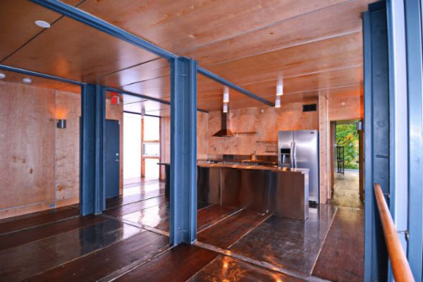 Photos Inside D C S First Shipping Container Apartments