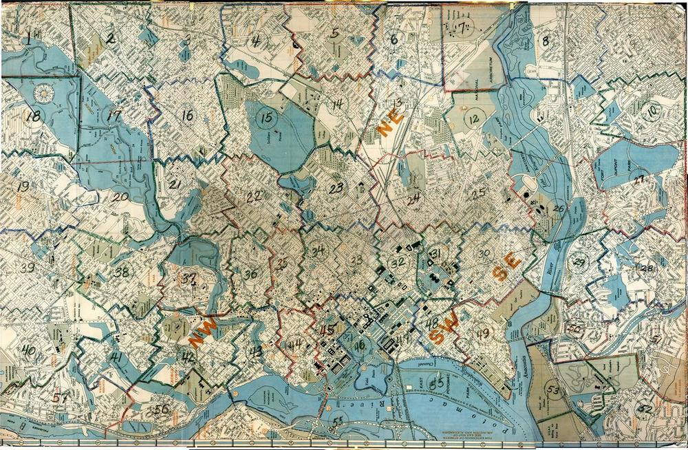 Washington Map Society.This Amazing Map Matches Google Streetview With Historical Images Of