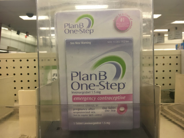 The Plan For Getting Plan B: Not Every Store Has Over-The