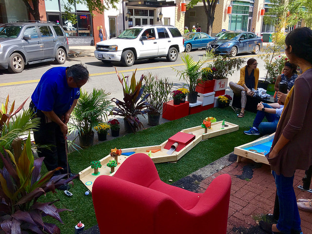 Image result for park(ing) day