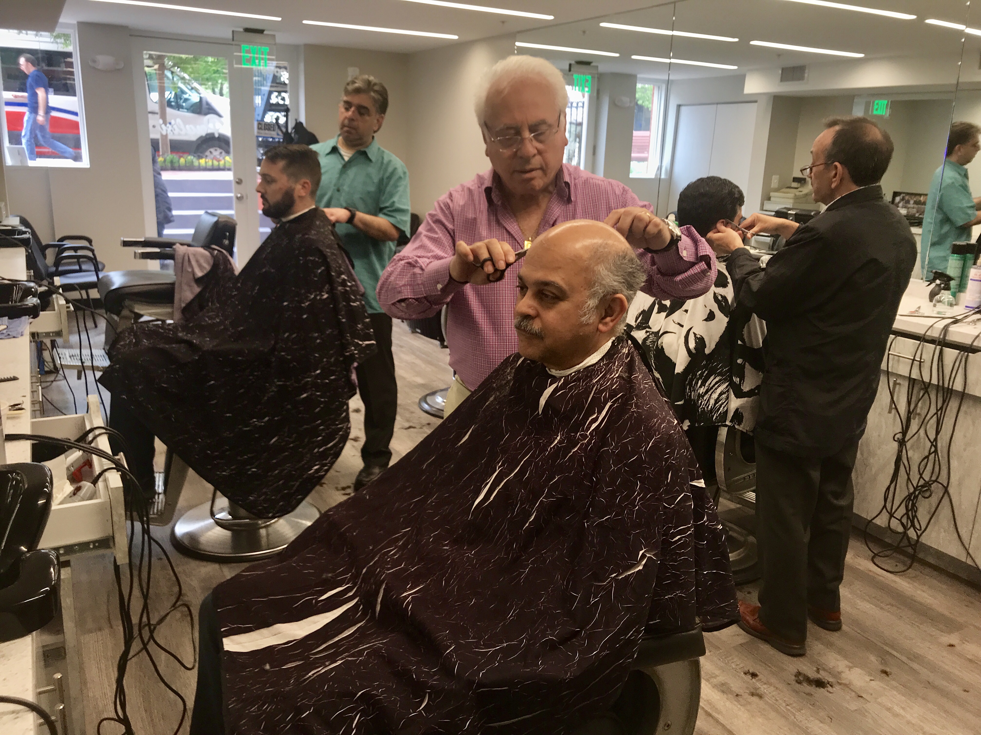 This Italian Immigrant Has Been Barbering In Foggy Bottom For