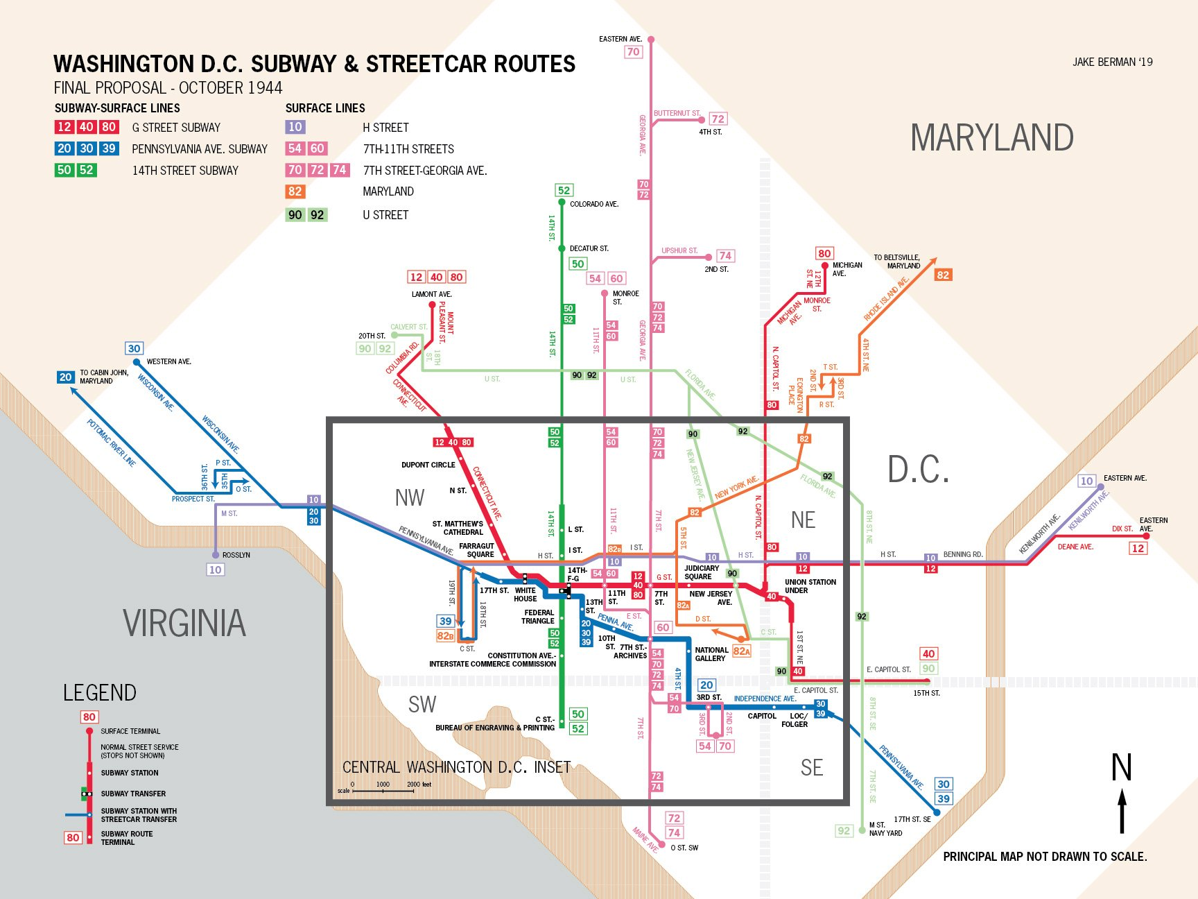 Here's What The D.C. Metro Could Have Looked Like | DCist on