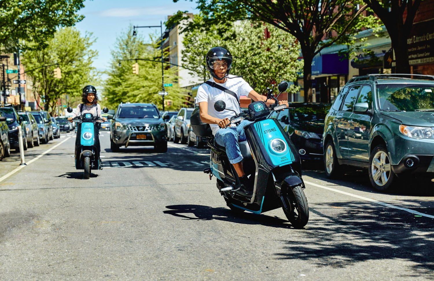 Rentable Mopeds Are Rolling Into The District This Weekend