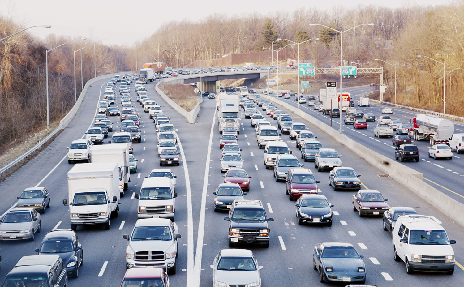 Maryland Shrinks Plan To Add More Lanes To The Beltway