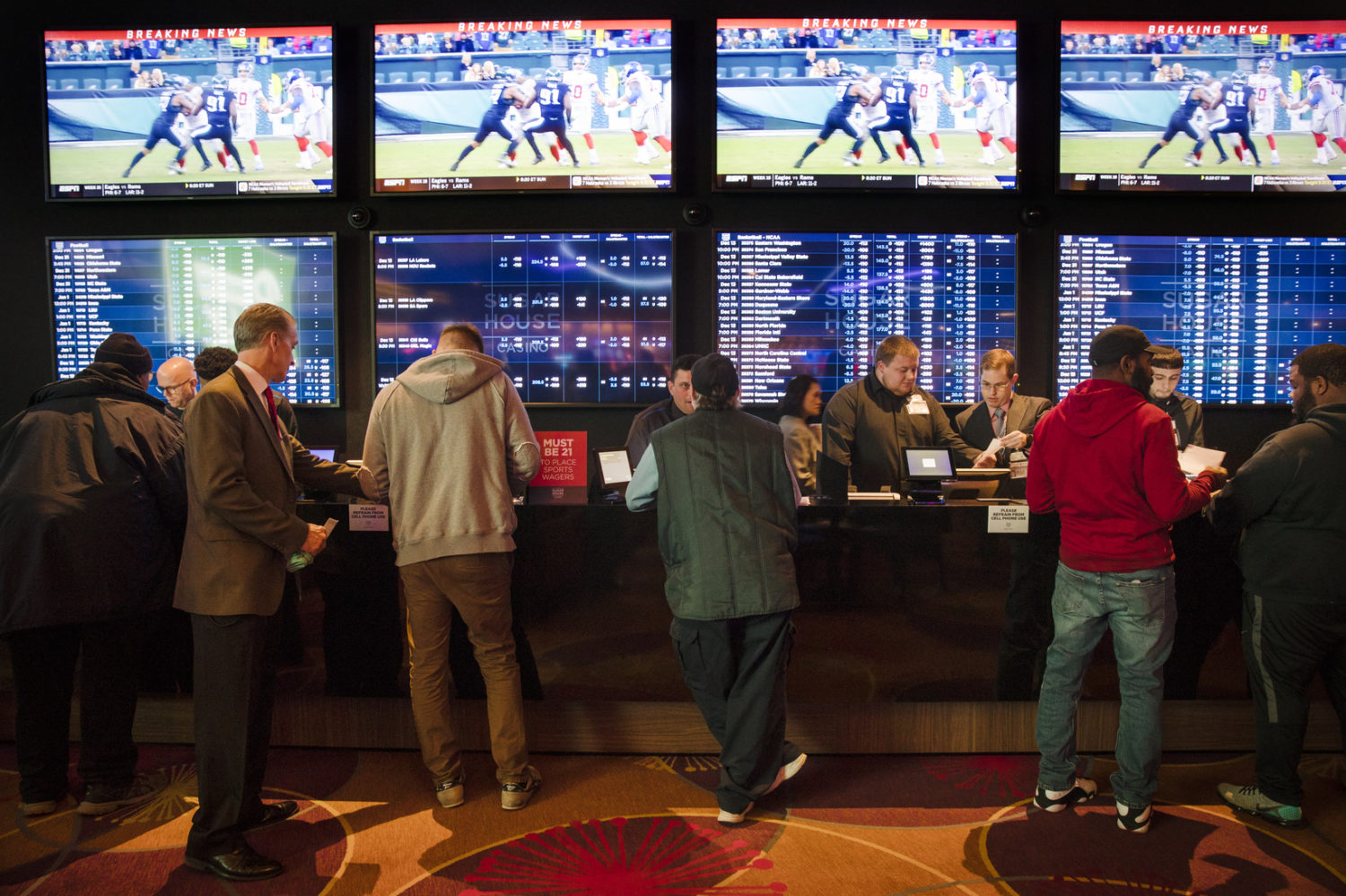 Sports Betting Could Begin In D.C. By Nationals' Opening Day | DCist