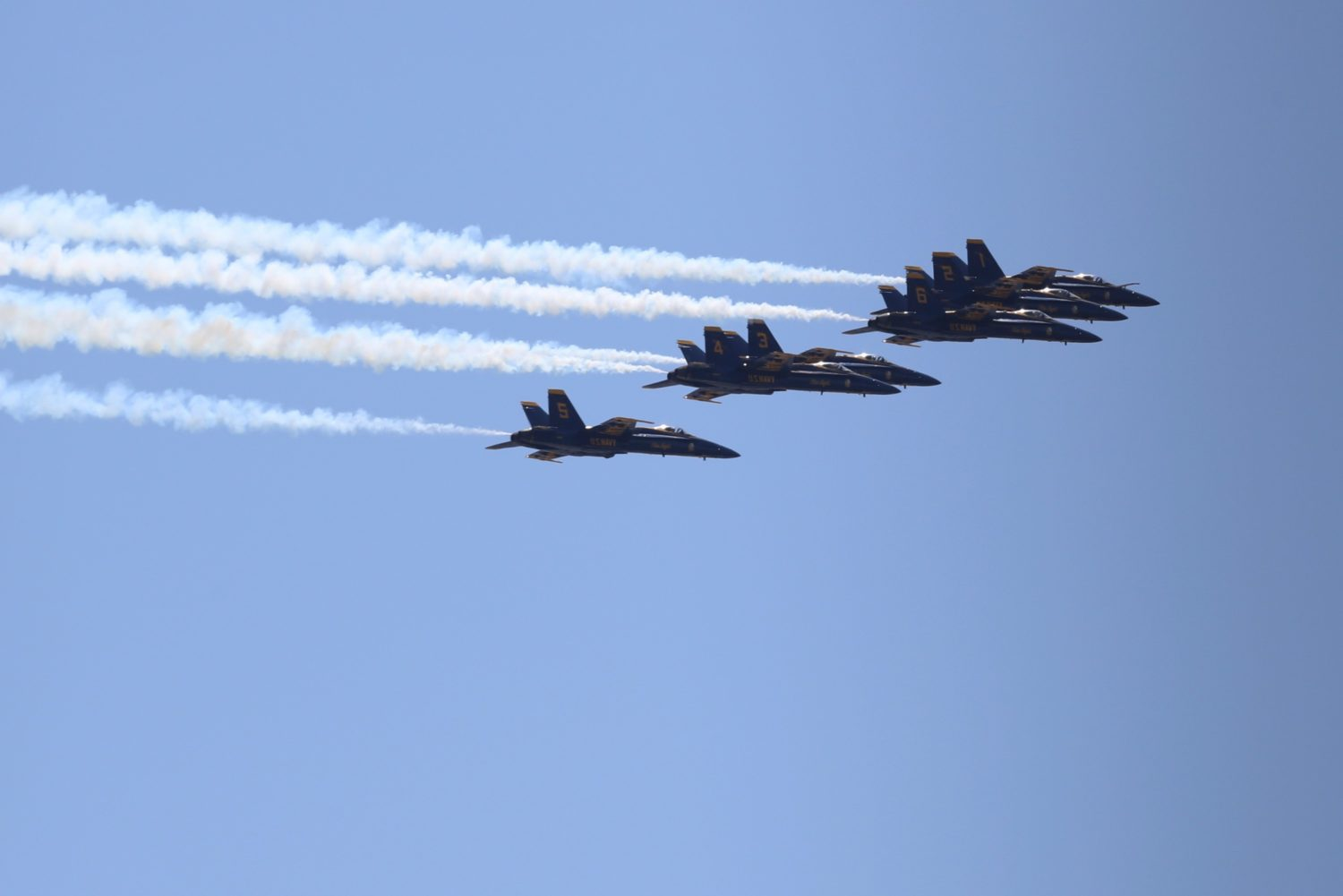 Blue Angels Thunderbirds To Fly Over D C In Honor Of Health Care